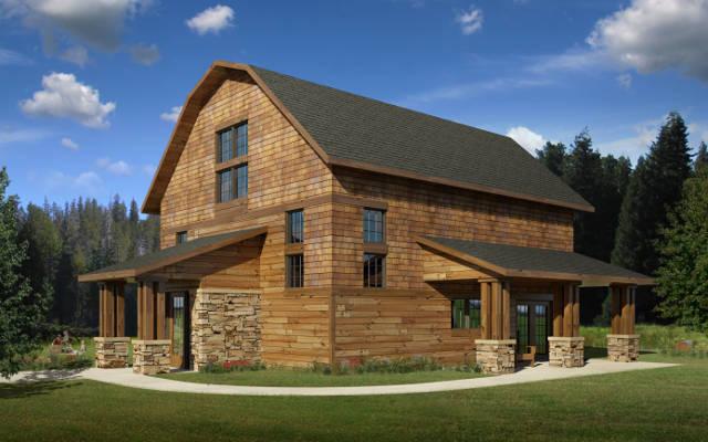 Denmark Ii Barn Artisan Restoration Llc Log Home