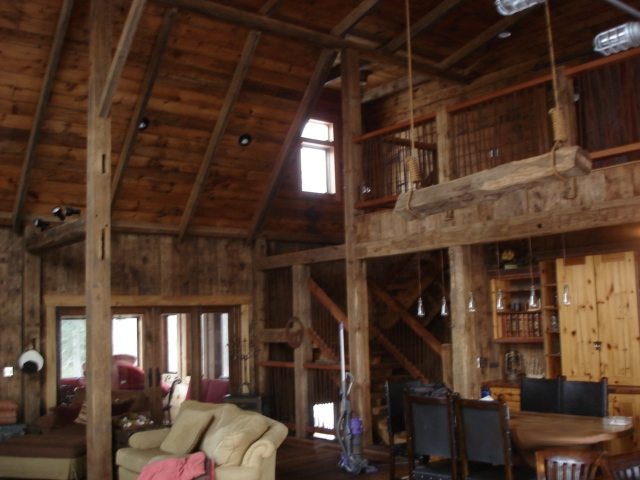 Brule Wi Artisan Restoration Llc Log Home