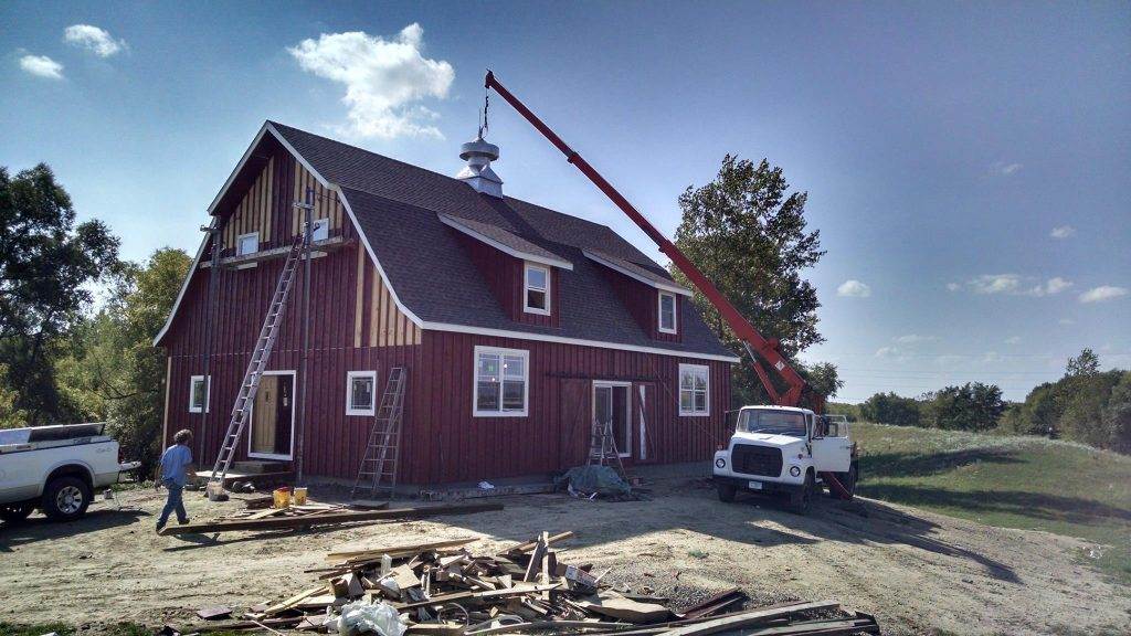 Building a barn home